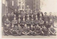 Cowper Boys' School Class 2a, 1936-37