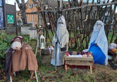 St Andrew's Church Nativity Display