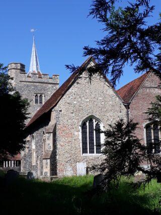Medieval church | Susan Payne