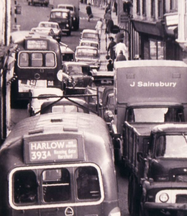 Congestion in Fore Street   Peter Ruffles