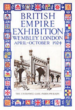 Advert for British Empire Exhibition