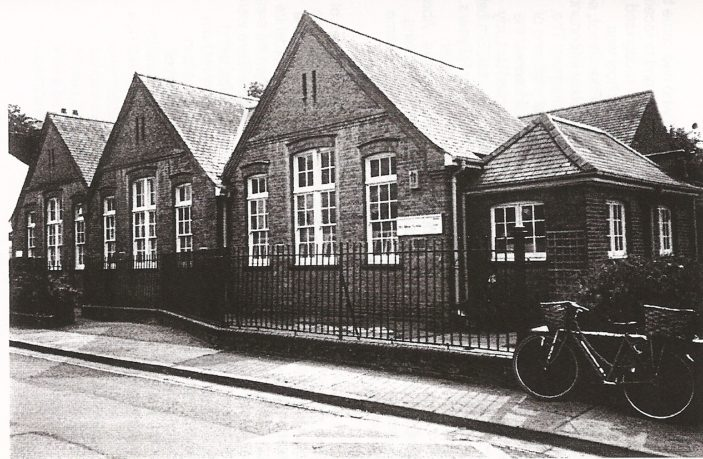 Port Vale School in the early 50s