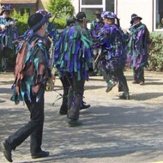The Morris dancers and musicians | Richard Brockbank