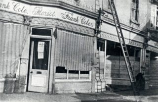 Frank Cole lived with Louise his wife at 8, North Road.  Presumably he lived above the shop.   Hertfordshire Archives and Local Studies