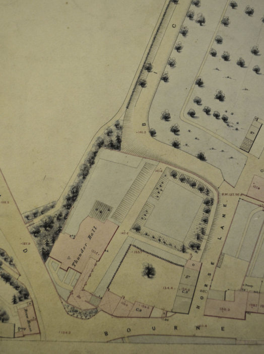 Map of 1851 | Hertfordshire Archives & Local Studies, ref D/ELe/P1