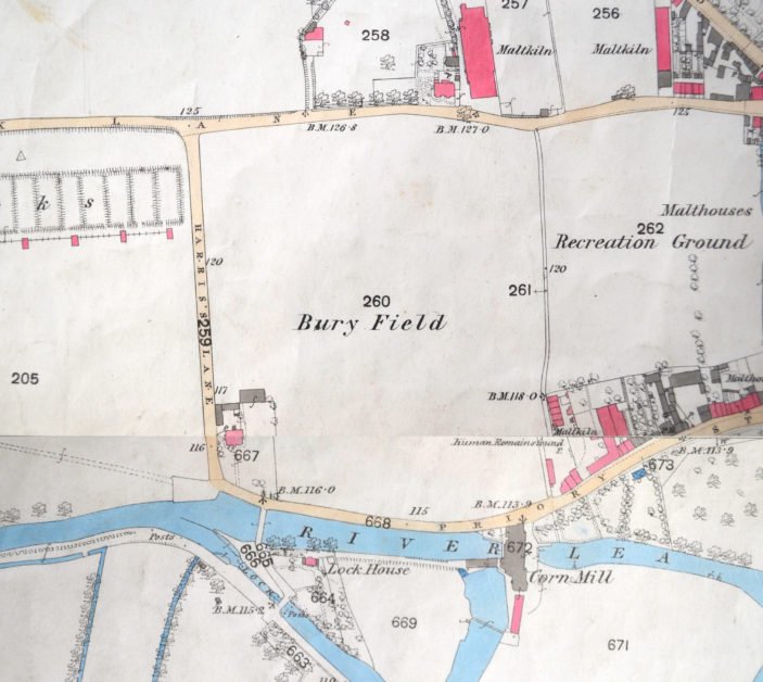 Map of 1881 | Hertfordshire Archives and Local Studies