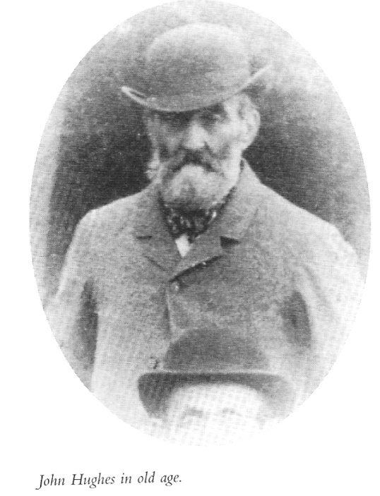John Hughes c 1900, aged 75