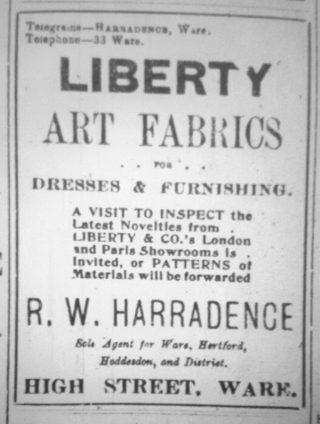 Ad 1911 | Hertfordshire Mercury