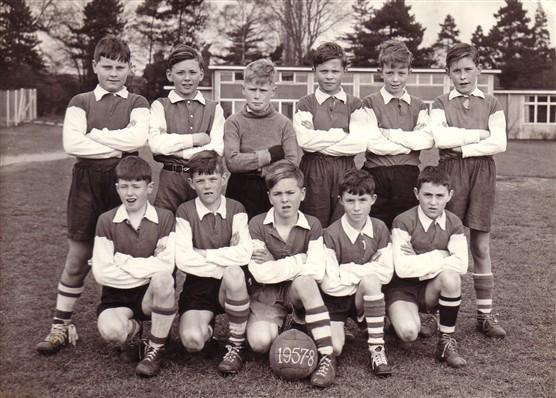 Morgan's Walk football team 1957/8 | Barry Sullivan