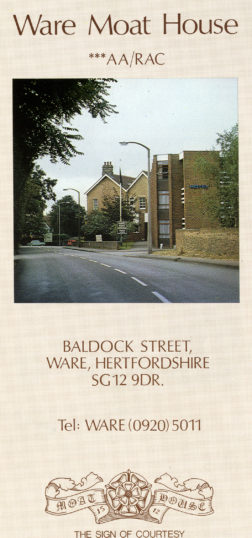 Leaflet from 1983 | Herts Archives & Local Studies