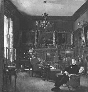 Otto Beit at home in Belgravia