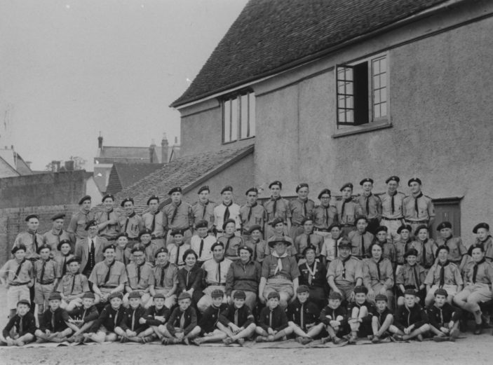 3rd Ware Scouts, 1956   Hertfordshire Archives and Local Studies