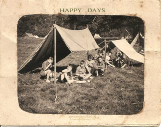 My Dad, Ray Wallis seated in the middle. 3rd Ware Scouts Christmas Card circa 1949