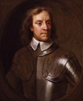 Oliver Cromwell | Portrait by Samuel Cooper