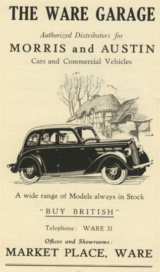 1938, town guide