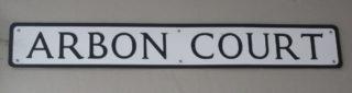 Arbon Court was originally called Fiddle Yard