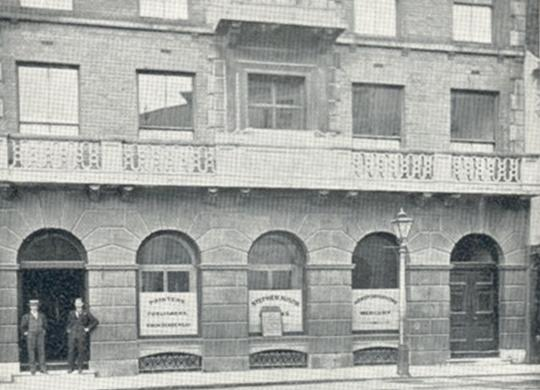 Stephen Austin's offices in Fore Street, Hertford, c.1910   Hertfordshire Archives & Local Studies