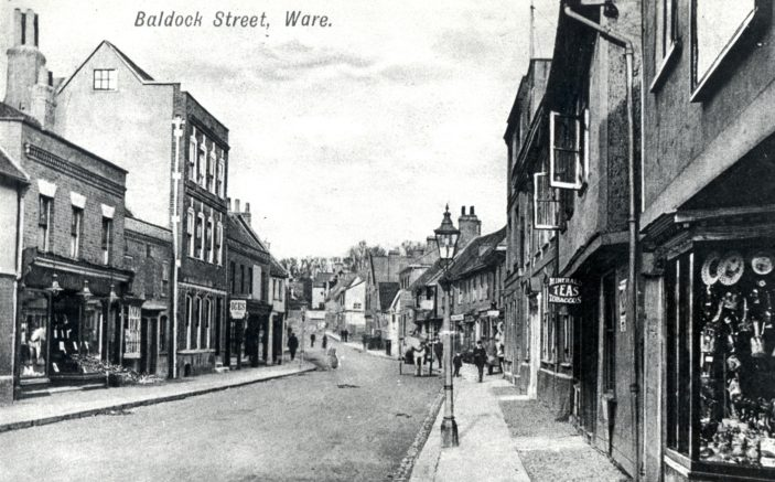 Baldock Street - looking towards the Town Centre | Hertfordshire Archives and Local Studies