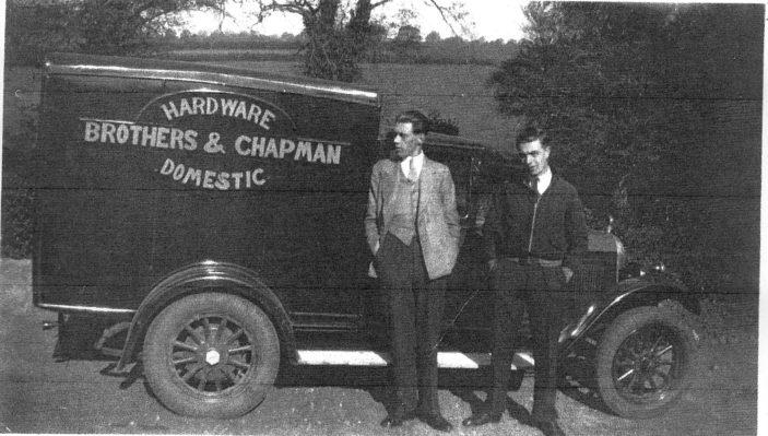 Bill's hardware van
