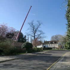 The crane is in position | Terry Askew
