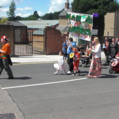 Hertford Carnival Procession on Sunday, 24th June, 2012