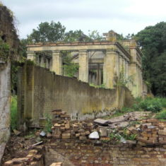 The back of The Orangery from an angle