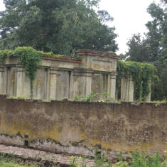 A further view of the back of The Orangery