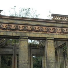 The remains of the Orangery
