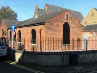 Cowbridge School from Dimsdale Sreet, 2013