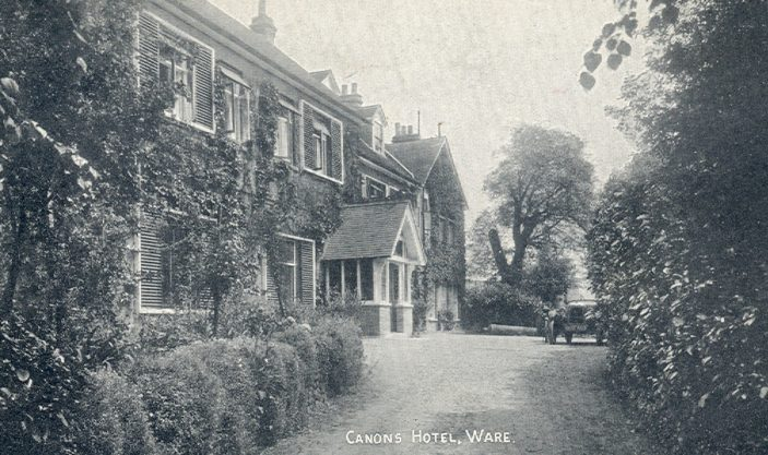 Canons Hotel | Hertfordshire Archives and Local Studies