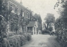 CANONS HOUSE SANITORIUM (the Sanitorium which nearly might not have been)