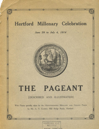 The souvenir programme for the pageant