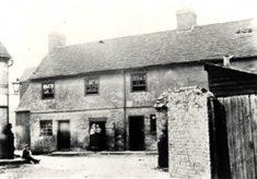 Slum housing in Hertford, 1850s to 1930s