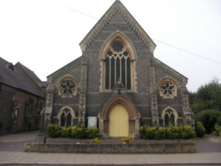 Hertford Congregational Chapel (now United Reformed Church)  built in 1852/3   Geoff Cordingley