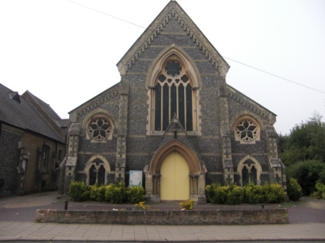 Hertford Congregational Chapel (now United Reformed Church)  built in 1852/3 | Geoff Cordingley
