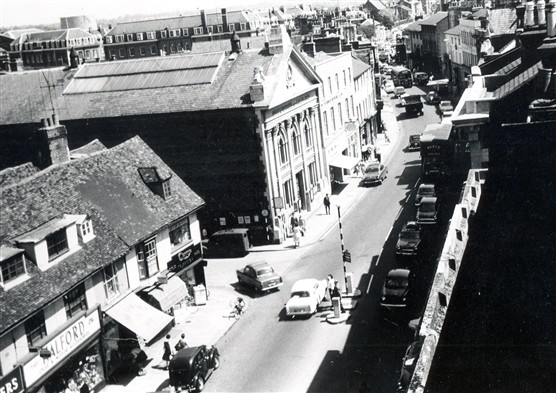 The Hertford Corn Exchange in the 1960s | Hertfordshire Archives and Local Studies