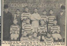 Cowbridge School under Walter Turpin