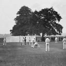 Cricket at Balls Park (now Hertford C.C. ground) | Hertfordshire Archives and Local Studies