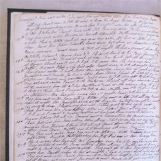 The Diary of a Nineteenth Century Stonemason