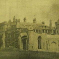 Demolition of Panshenger House, 1954