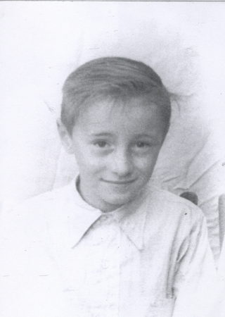 Doug as a boy