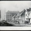 Fore Street as it was in the past and how it is today