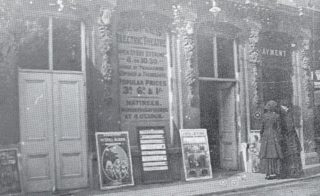 Hertford's first cinema, the People's Electric Theatre