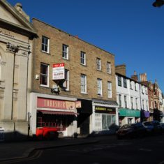 The building now houses Threshers wine merchant (recently closed) and Marshall's Cycles.   Fiona MacDonald