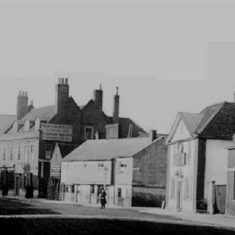 Looking west from the east end of Fore Street | Hertfordshire Archives and Local Studies