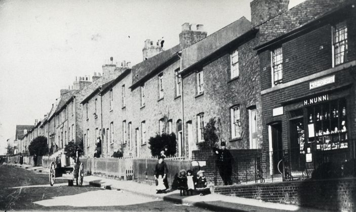Shop at 12 Musley Hill - now a house | Hertfordshire Archives and Local Studies