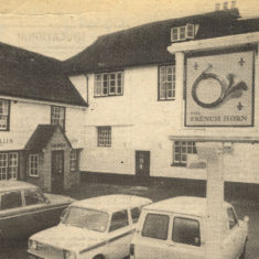 The French Horn in 1977.  It closed in 1996.