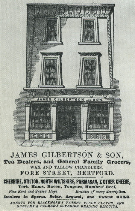 19th century advert | Pamphlet files, Herts Archives