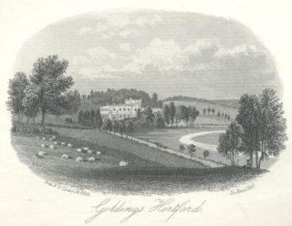 Goldings, near Hertford, 1860