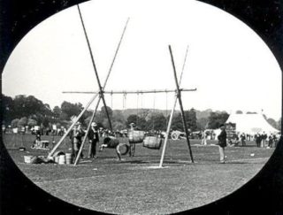 Town fete held at Hartham Common in Hertford on Whit Monday, 30 May 1898